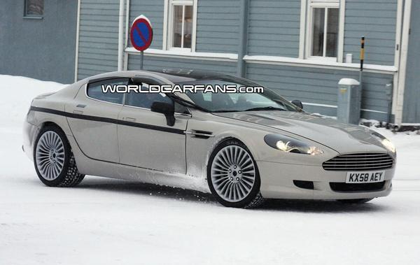 Future Aston Martin Rapide : belle même en gris