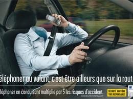 Sécurité routière: le téléphone portable fait des dégâts