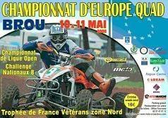 Les français répondent présents à Brou!!!