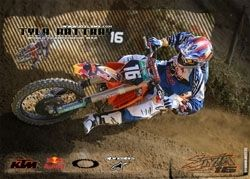 MX 2 en Bulgarie, Aubin sur un podium
