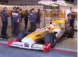 Vidéo : découvrez les F1 2009 en test à Portimao