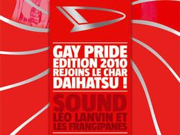 Daihatsu France à la Gay Pride