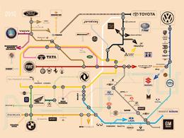 Car Online et sa carte du métro
