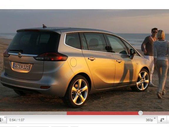 Le nouvel Opel Zafira en vidéo