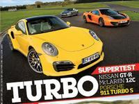 Drag Race Motorsport : McLaren 12C Spider vs Nissan GT-R vs Porsche 911 Turbo S