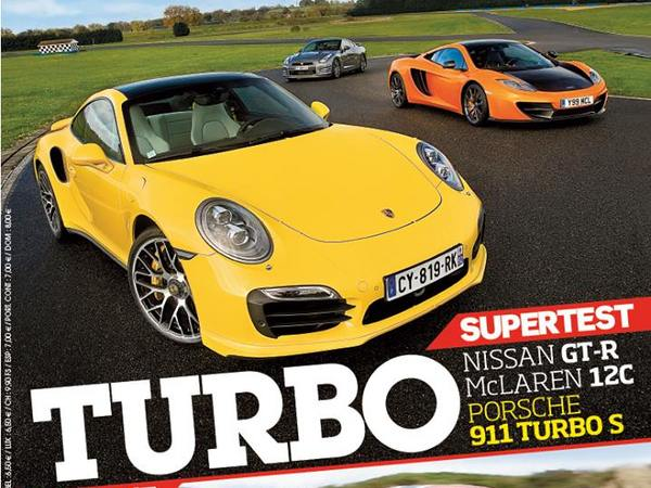 Drag Race Motorsport : McLaren 12C Spider vs Nissan GT-R vs Porsche 911 Turbo S