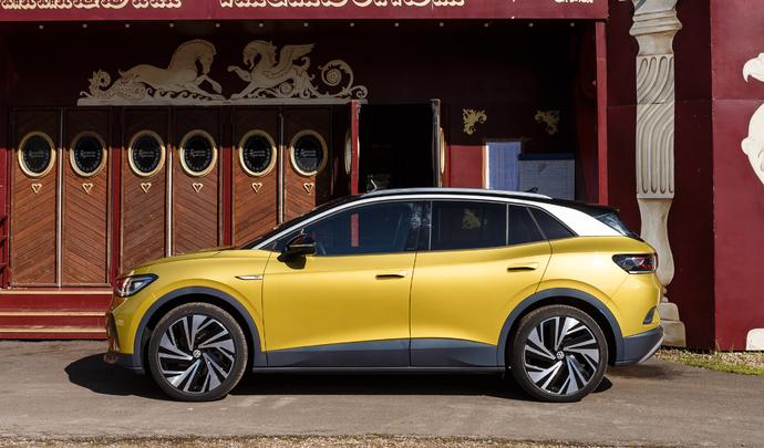 Volkswagen ID.4 : SUVvolté - Salon Caradisiac Electrique/hybride 2021