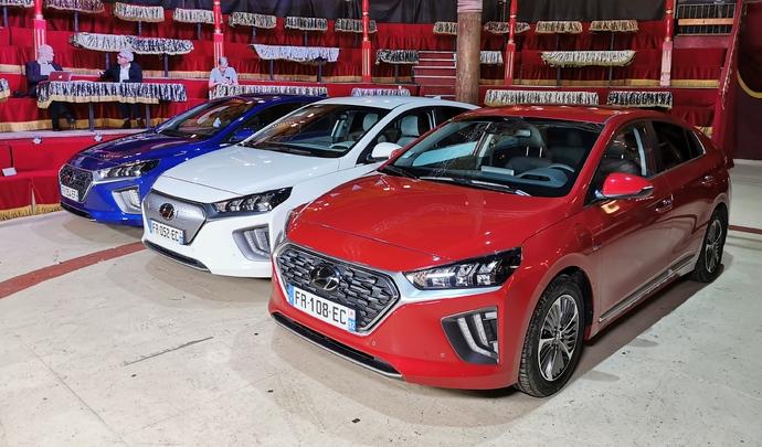 Hyundai Ioniq : la passe de trois - Salon Caradisiac Electrique/hybride 2021