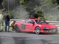 Electric Ring Folies : l'Audi R8 e-Tron se fait un rail