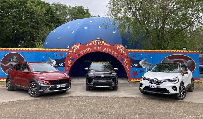 Les 3 SUV urbains hybrides du salon Caradisiac Electrique/hybride 2021: quel modèle choisir ?