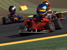 F1 Race Stars : le jeu qui marie Mario kart et la F1