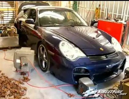 vid o porsche 996 turbo 1000 chevaux. Black Bedroom Furniture Sets. Home Design Ideas