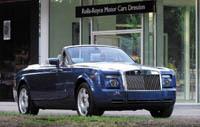Salon de Francfort 2007: Rolls-Royce Phantom Drophead Coupé