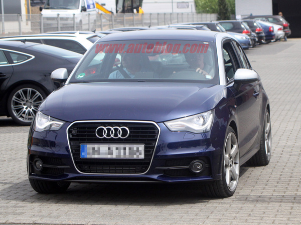 Future Audi S1: mais on dirait une A1!