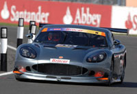 Ginetta au milieu des Aston Martin, BMW, Lotus et Porsche!
