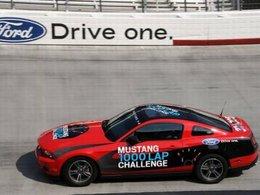 Record : une Ford Mustang V6 2011 a réalisé 1250 km avec un seul plein !