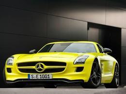 Mondial de Paris 2010 : la Mercedes SLS AMG E-Cell électrique