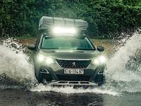 Peugeot 3008 Adventure Concept : le SUV en mode baroudeur
