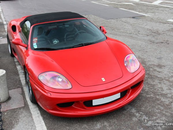 Photos du jour : Ferrari 360 Spider Imola Racing