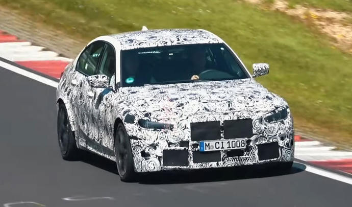 La Future Bmw M3 Rugit Sur Le Nürburgring