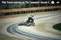 Entraînement de Flat Track avec Borgiotti et Moschini (vidéo)... façon Offlimits