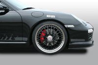 Suspension Cargraphic Airlift pour Porsche 911 et Audi R8