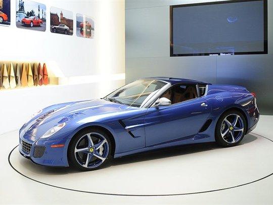 Villa d'Este 2011 : voici la Ferrari Superamerica 45