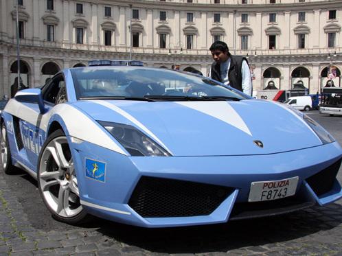 Photos du jour : Lamborghini Gallardo Polizia