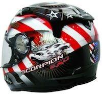 Scorpion Exo-1000 Air Freedom: un parfum de liberté bien ricain