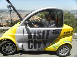 Visitez Nice à bord de la CityCar électrique !
