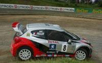 Rallycross: Pailler performe à Faux-Bergerac