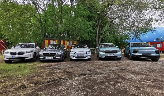 Les 5 SUV familiaux électriques du salon Caradisiac 2021