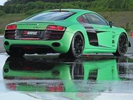 Audi R8 V10 Racing One. Chevaux et look au programme