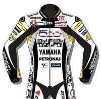 Dainese habille les pilotes du Team Fiat Yamaha spécialement pour le GP Laguna Seca...