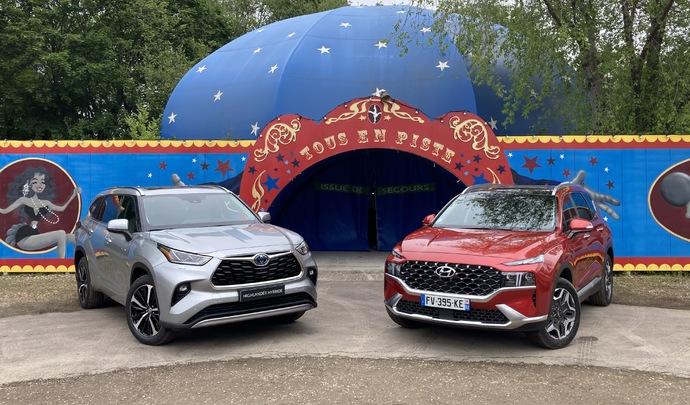 Les 2 SUV familiaux hybrides du salon Caradisiac Electrique/hybride 2021: quel modèle choisir ?