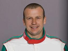 Olivier Panis avec Skoda au GP de Pau électrique
