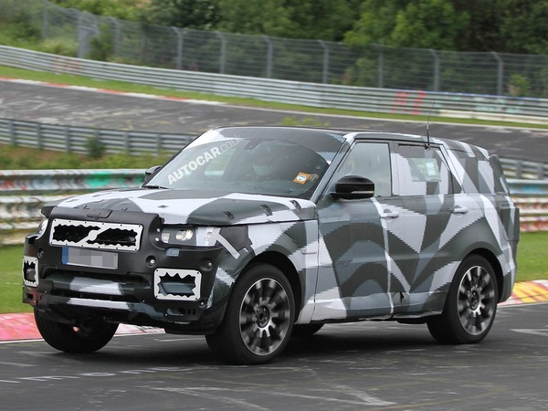 le nouveau range rover sport en test sur le nurburgring. Black Bedroom Furniture Sets. Home Design Ideas