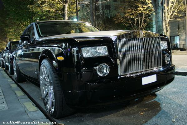 Photos du jour : Rolls-Royce Phantom