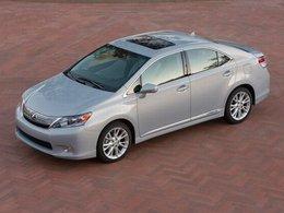 Rappel de 17 000 Lexus HS 250h hybrides en Amérique du Nord