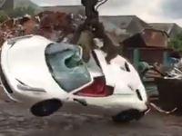 Une Ferrari 458 Italia Spider détruite par la police anglaise