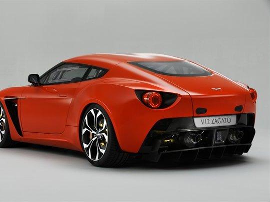 Voici l'Aston Martin V12 Zagato!