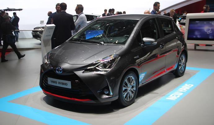 Toyota Yaris restylée 2017 : proche fin de carrière - Vidéo en direct du salon de Genève