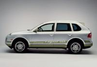 Salon de Francfort 2007: Porsche Cayenne Hydride