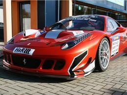 Ferrari 458 Racing One, préparation façon Challenge