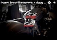 "Victory Motorcycles Octane: épisode 2 ""Sounds like a race car"" (vidéo)"