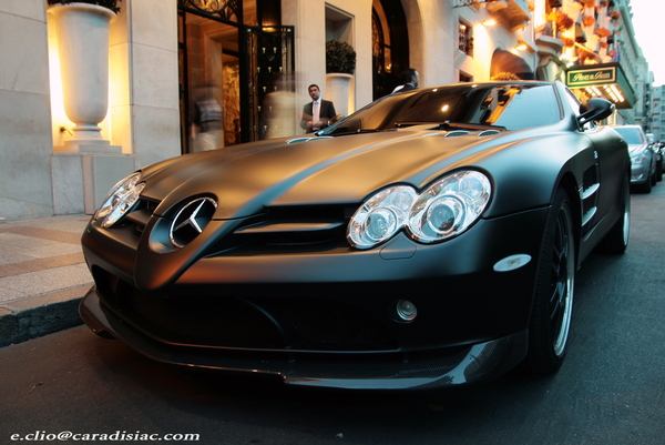 Photos du jour : McLaren Mercedes SLR 722