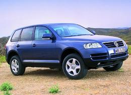 Volkswagen rappelle son Touareg en concession.
