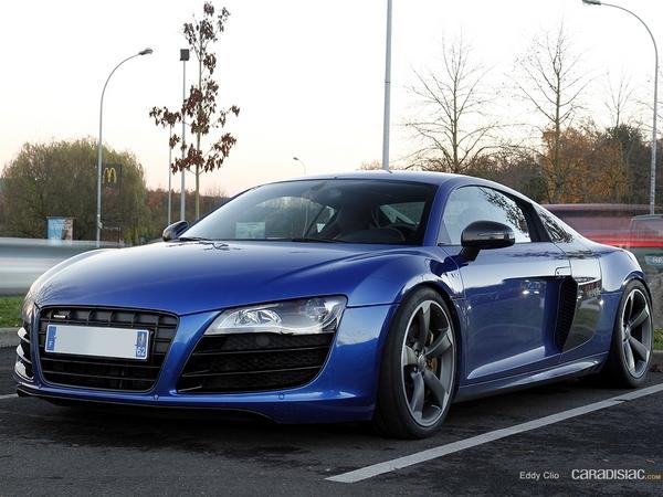 Photos du jour : Audi R8 V10 (Téléthon)