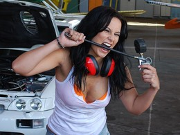 Calendrier Miss Tuning 2013 : le making of