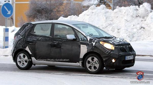 Futur Hyundai-Kia MPV en test grand froid